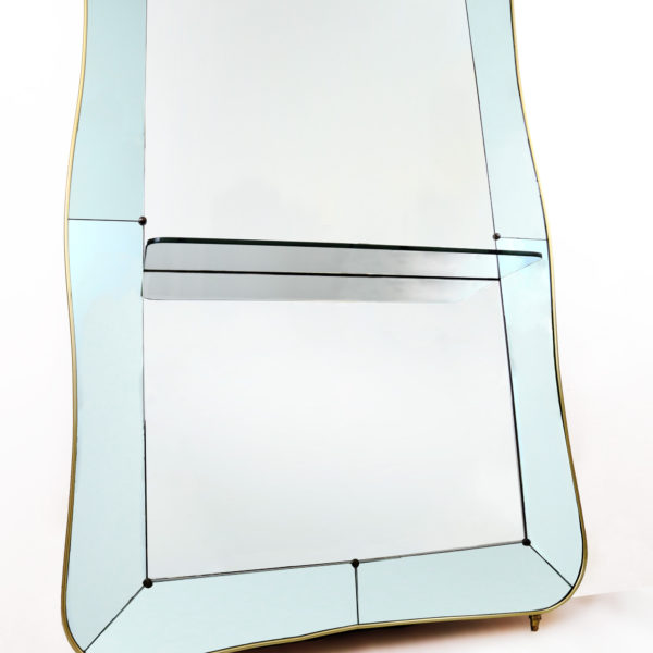 CG130-A-Large Cristal Console Mirror