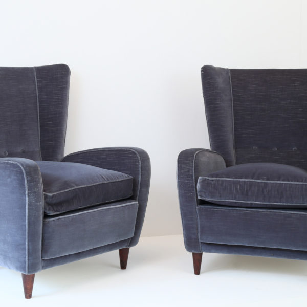 CG16 Paolo Buffa Wingback Chairs