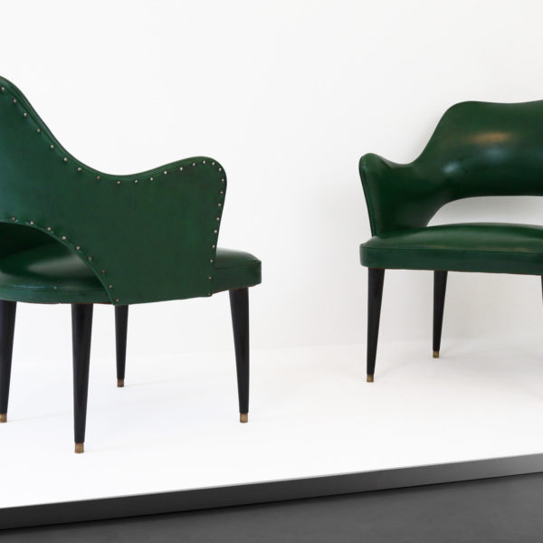 CG23-A Osvaldo Borsani Cocktail Chairs