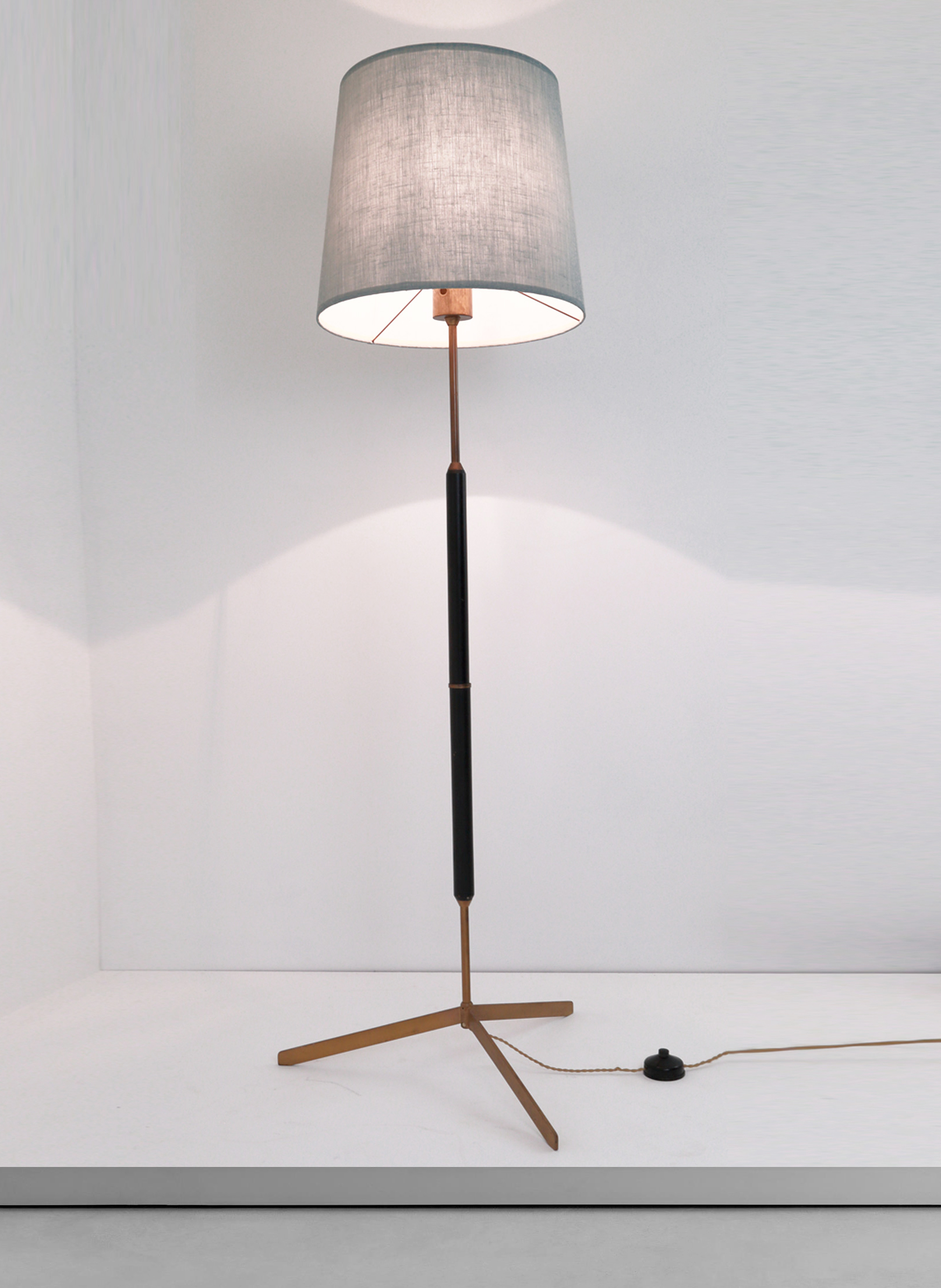 Bergbom 1950s swedish floor lamp cupio gallery for 1950 floor lamp